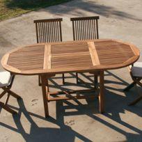 Table jardin ovale - catalogue 2019 - [RueDuCommerce - Carrefour]