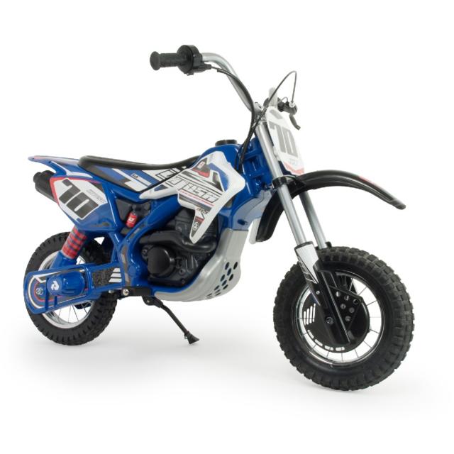 INJUSA Moto Cross electrique - 24V - Blue Fighter