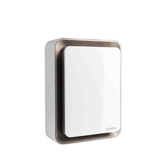 Superbe Supra   Supra Radiateur Soufflant Mobile Blanc U0026 Marron 1800W Chauffage Du0027appoint  électrique