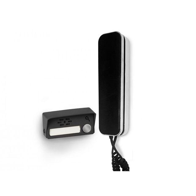 scs sentinel interphone audio 2 fils audiobell magnet audiobell magnet pas cher achat. Black Bedroom Furniture Sets. Home Design Ideas