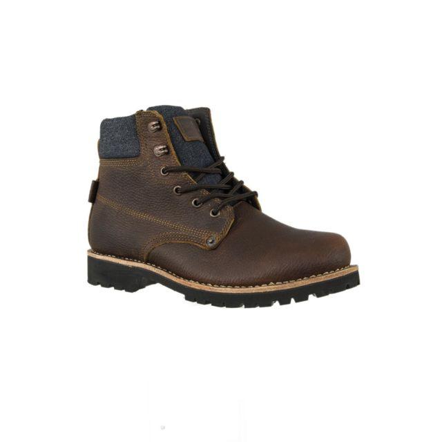 598f2bd853e5bf Levi's - Chaussures ville levis 226790 jackson marron 44 - pas cher ...