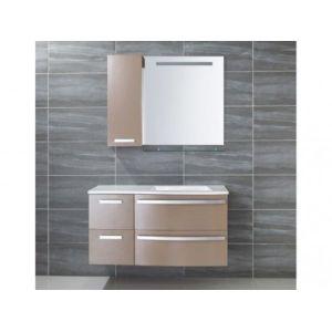 Marque generique ensemble de salle de bain nereide for Ensemble vasque meuble miroir pas cher
