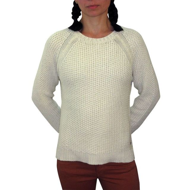 49a00310a7904 Pepe Jeans - Pull penny blanc - pas cher Achat   Vente Pulls femme ...