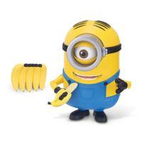 Mtw Toys - Figurine de luxe Minions : Stuart grignote des bananes