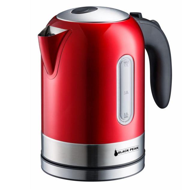 Blackpear Bouilloire sans fil 1.7L Rouge - Bsf1740