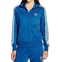 Adidas originals - Veste Firebird Tt Bleu Femme Adidas