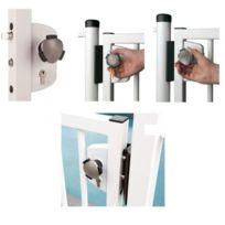 Locinox - Serrure de sécurité enfant pour piscine/ profil 40 mm/ norme Nf P90-306