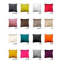 Bonareva - Housse de coussin - Zip - 40 x 40 cm - Shana - Différents coloris fushia