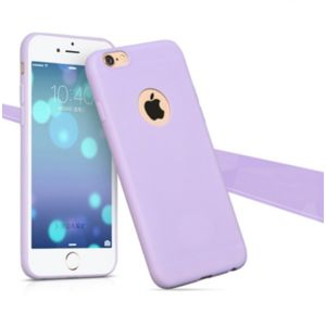 coque iphone 6 rose pale mat