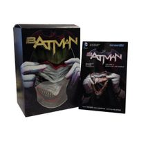 Dc Comics - Batman: Death of the Family Book and Joker Mask Set