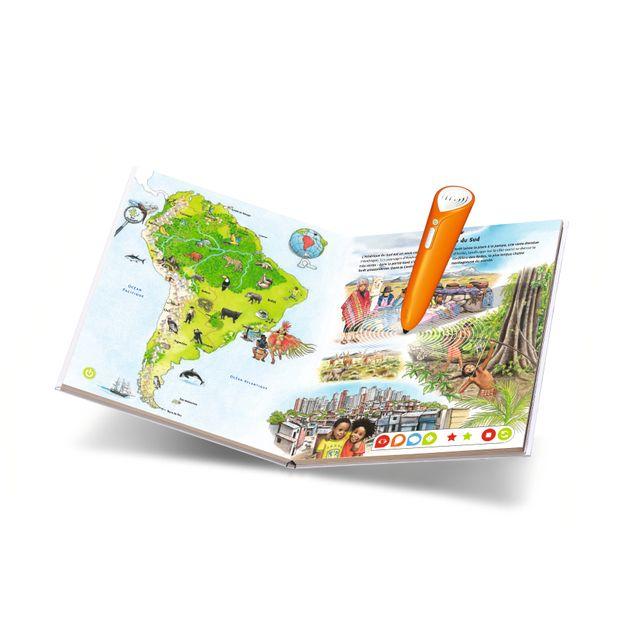 RAVENSBURGER - Tiptoi Livre Mon premier Atlas - 00628