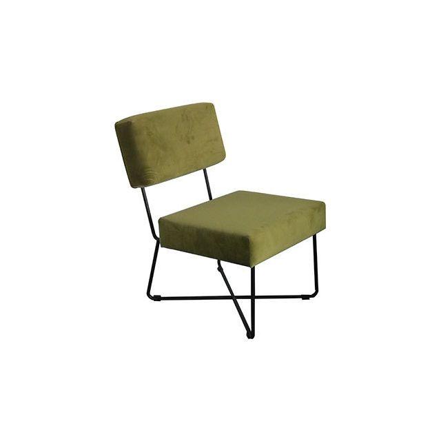 Fauteuil Kaline Vert Mousse 54.5x68xH75cm