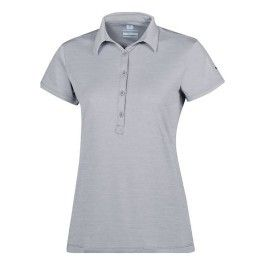 89e50cd30f0 Columbia - Polo Zero Rules Ii manches courtes gris femme - pas cher ...