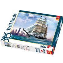 Trefl - Puzzle 500 pièces - Voguer auprès de Chicago