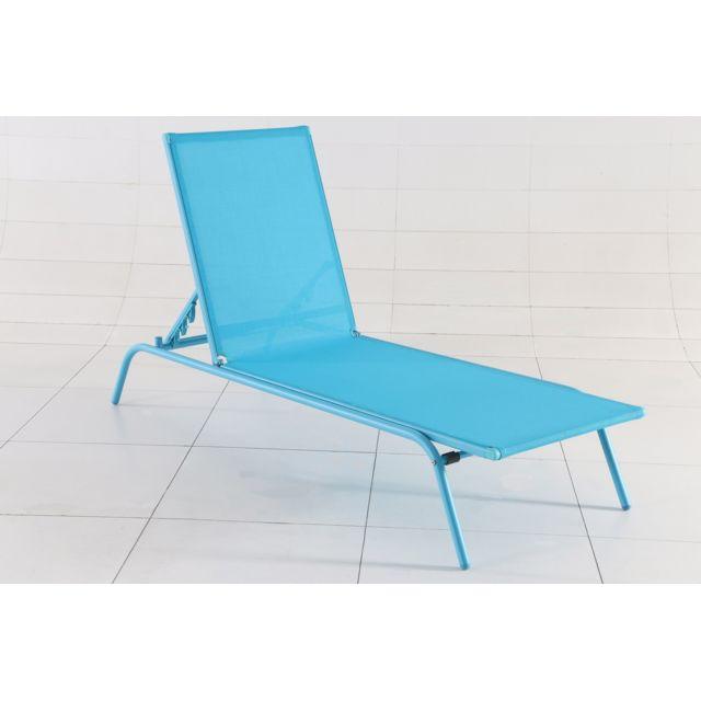 carrefour - bain de soleil tello - bleu - pas cher achat / vente