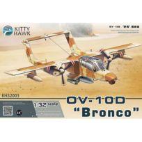 "Kitty Hawk - Maquette Avion Militaire : North American Ov-10D ""Bronco"" Guerre du Golf 1991"