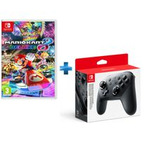 Mario Kart 8 Deluxe + Manette Switch Pro