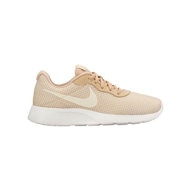 promo code 2521e 004bd Nike - Chaussures Tanjun Se beige blanc femme - pas cher Achat   Vente  Chaussures fitness - RueDuCommerce