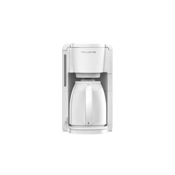 ROWENTA Cafetière Isotherme 8-12 Tasses Adagio Blanche CT3801