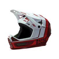 Ixs - Xult - Casque intégral - rouge/blanc