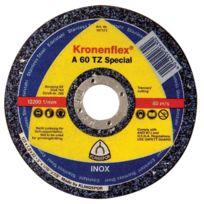 Klingspor - Disque A Tronconner Pour Meuleuse Special Inox Moyeu Deporte - Ø mm:115 - Epais. mm:0,8