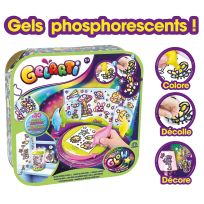 GELARTI - Glow studio - Coffret créatif de stickers phosphorescents - 8303