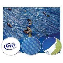 Gre Pools - Bâche à bulle de 7,25 x 3,70 m pour piscine ovale Gre Pool de 7,30 x 3,75 m