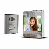 Interphone vidéo filaire effet miroir - QUATTRO²