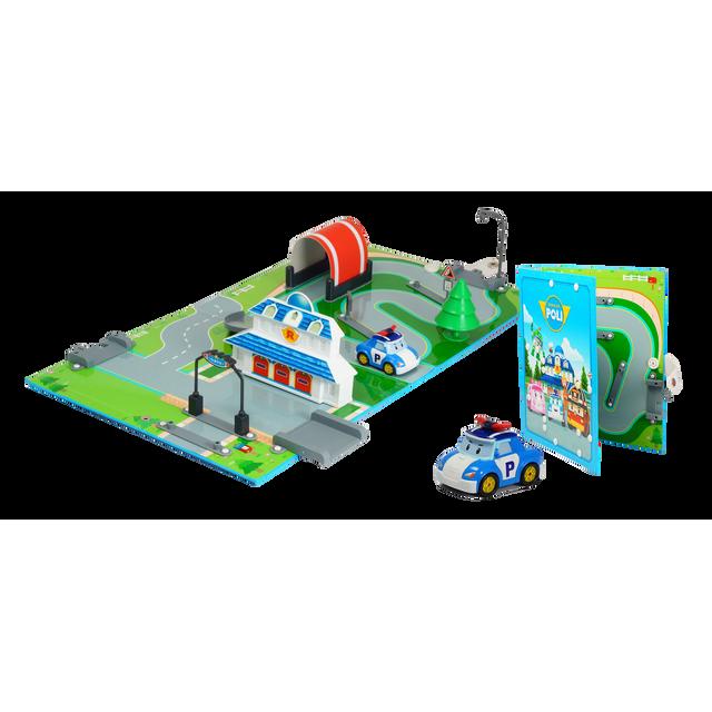 Silverlit robocar aire de jeu quartier general 83280 - Jeux de robocar poli gratuit ...
