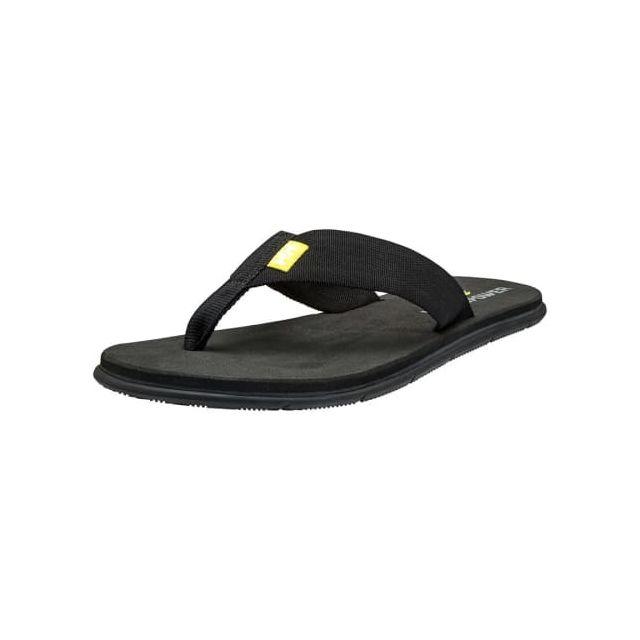 promo code 48192 3231c Helly Hansen - Tongs Seasand Hp noir jaune - pas cher Achat   Vente  Matériel d entraînement - RueDuCommerce