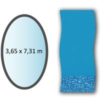 Swimline - liner swirl forme ovale 3.65x7.31m pour piscine hors sol - li1224sb