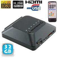 Yonis - Passerelle multimédia lecteur vidéo Full Hd 1080p Hdmi 32 Go