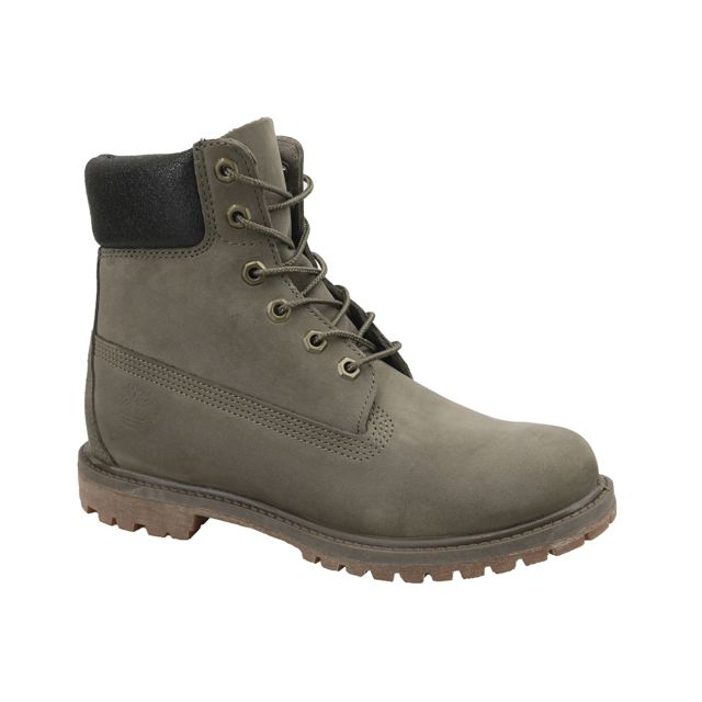 a9059c95581 Timberland - 6 In Premium Boot W A1HZM Gris - pas cher Achat   Vente Boots  femme - RueDuCommerce