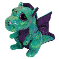 TY - Peluche Beanie Boo's Medium Cinder Le Dragon