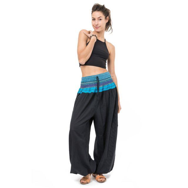 Fantazia - Pantalon sarouel indian chic sari - pas cher Achat ... ad7b4deacd6