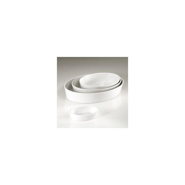 Pillivuyt Plat sabot ovale blanc 26 x 19cm en porcelaine - Collection Générale