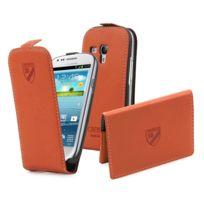 Cremieux - Made In Paris Pack Porte Carte Et Slim Orange Galaxy Siii Mini