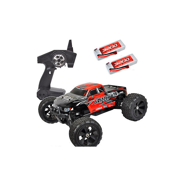 Grizzly Truck Monster 4wd 4ghz 2 18 Pirate Brushless Rtr qj3ARL54