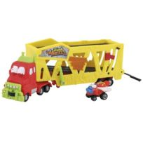 Giochi Preziosi Germany GmbH - The Trash Pack - Trash Wheels - Muck Mover - Camion Porte-voiture + 1 VÉHICULE Miniature