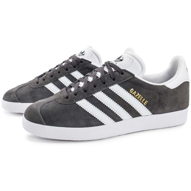 Adidas - Gazelle W Grise - pas cher Achat / Vente Baskets ...