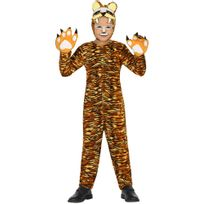 Atosa - Déguisement Tigre - Enfant3-4 ans 94 à 108 cm