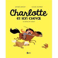 Bd Kids - Charlotte et son cheval tome 2 ; la saison des galops