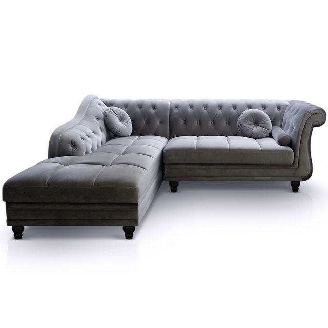 Paris Prix Canapé Chesterfield Velours