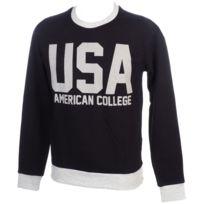 American College - Sweat Usa 2 noir/gris Noir 44749
