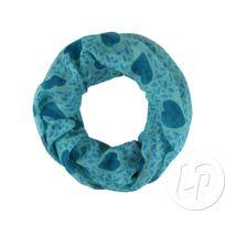 7143502d4fe5 Coolminiprix - Lot de 3 - Foulard tube coeurs turquoise sch-700b - Qualité
