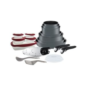 Tefal batterie de cuisine ingenio performance 20p - Batterie de cuisine tefal induction pas cher ...