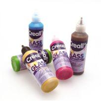Creall - Peinture repositionnable pour vitres Kit 6 pièces