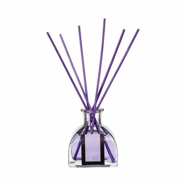 Paris Prix Diffuseur de Parfum avec 6 Bâtons 100ml Lavande
