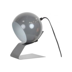 lampe boule orientable en m tal gris spot rondo pas cher achat vente rueducommerce. Black Bedroom Furniture Sets. Home Design Ideas
