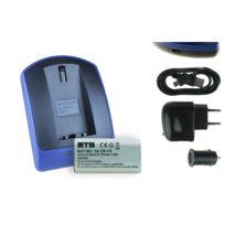 mtb more energy® - Batterie + Chargeur USB, Cr-v3 pour Pentax K100D, K110D / Optio 230, 330 Gs
